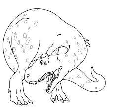 Dinosaur Allosaurus Coloring Page