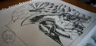 Creating A Half Sleeve Custom Tattoo Design From Dark Graphics