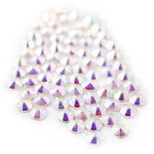 100 Ab Flat Swarovski 20582088 Crystal AB Back Crystals Naildrobe Nail