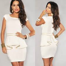 all white summer dresses cocktail dresses 2016