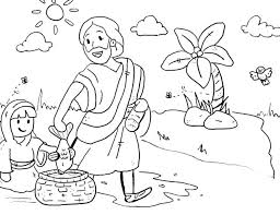 Free Bible Coloring Pages Noahs Ark Stories Printables School Kids Sheets