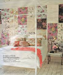 Wallpaper Ideas Patchwork Floral Wall Bedroomcottage Vintage Eclectic