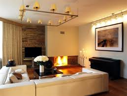 Indoor Lighting Ideas Living Room Warm Nuance