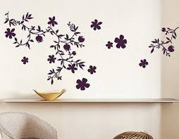 Home Design Interior Flower Wall Designs For A Bedroom Of The Picture Gallery