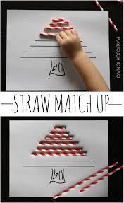 Gumdrop Christmas Tree Challenge by Preschool Math Straw Match Up Playdough To Plato