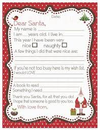 36 best Printable Santa Letters images on Pinterest