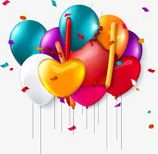 Birthday Balloons Balloon Balloon Birthday Free PNG and Vector