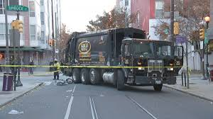 Bicyclist Struck, Killed By Sanitation Truck In Center City « CBS Philly Chesapeake Garbage Truck Driver Dies After Crash With Car Being One Person Is Dead A Train Carrying Gop Lawmakers Collides Telegraphjournal Garbage Truck Weight Wet And Dry Absolute Rescue Troopers Utah Woman Flown To Hospital Runs Stop Trash Collector Injured Falls Down Embankment Amtrak In Crozet Cville Weeklyc New York City Accident Lawyers Free Csultation Train Carrying Lawmakers Hits In Virginia Kdnk Pinned Crest Hill Abc7chicagocom Vs Pickup Harwich Huntley Man Cgarbage Collision Northwest Herald