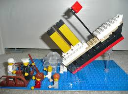 titanic sinking runner up grades k 2 2010 lego contest ann