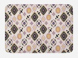 badematte plüsch badezimmer dekor matte mit rutschfester rückseite abakuhaus boho hippie ethnische motive kaufen otto