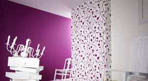 wand streichen ideen wohnzimmer lila freshouse