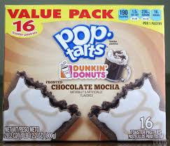 Dunkin Donuts Pumpkin Spice Latte 2017 by Dunkin U0027 Donuts Frosted Chocolate Mocha Pop Tarts Review