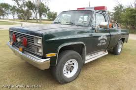 1984 Chevrolet Silverado 20 Fire Truck | Item DC3931 | SOLD!... 1984 Chevrolet Blazer Overview Cargurus Chevy Truck C10 Silverado For Sale Photos All Of 7387 And Gmc Special Edition Pickup Trucks Part Ii Eight Reasons Why The 2019 Is A Champ K10 Truck Restoration Cclusion Dannix Blacked Out C30 Crew Cab Dually 1998 1500 Sale Nationwide Autotrader 2009 3500 Pricing Features Ratings Reviews Classiccarscom Cc1057898 Chevy Short Bed 1 Ton 4x4 Lifted Lift Monster Mud