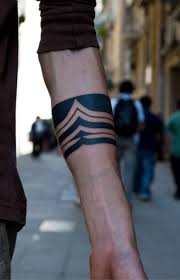 Armband Tattoos Are Shaped Like Bands Though There May Be Slight Variations Depending Upon The Design Element Chosen By Bearer