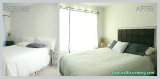 No Headboard Bed Ideas Full Image For Bedroom Without Headboards Decorating Gallery Of Padded