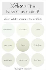 White Is The New Gray (Paint)! - ZDesign At Home The Midway House Kitchen Benjamin Moore Classic Gray Image Result For Functional Valspar Interior Paint Colours Best 25 Ballet White Benjamin Ideas On Pinterest Swiss Moore Color Trends 2016 Fashion Trendsetter Paint White Color 66 Best Simply Moores Of The Year How To Build An Extra Wide Simple Dresser Sew Woodsy Trophy Display Hayden Ledge Shelves From Pottery Right Pating Fniture 69 Beige And Tan Coloursbenjamin Crate And Barrel Bedrooms Barn Sherwin Williams Coupon