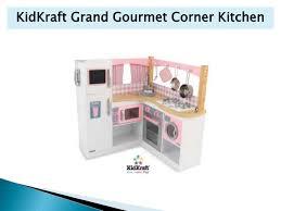 Kidkraft Grand Gourmet Corner Kitchen Play Set by Wooden Play Kitchen