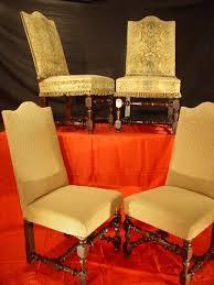Four 17th Century Louis XIV Chairs