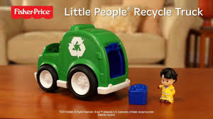 Fisher Price - Little People - Recycle Truck - YouTube Fisherprice Press N Go Monster Truck Green Toysrus Smallest Super Duty Ever Introduces Lifelike Toy Vintage Fisher Price Husky Helpers Dump Wguys Scoop 302 Little People Planes Cars Trucks And Trains Boy Amazoncom Hero World Rescue Heroes Fire With Ride On Toys Servin Up Fun Food Youtube The Helper Cement Mixer From In The Early Die Cast Vehicle Blaze New Free Wheelies All About Ritchie Brothers