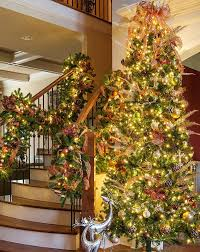 Donner And Blitzen Flocked Christmas Trees by Pictures Of Christmas Trees To Color Prelit Christmas Tree