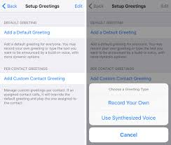 AnsweringMachine the amazing voicemail experience iOS never had