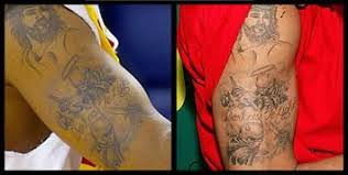 Chris Brown Arm Tattoos