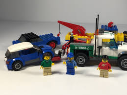 LEGO 60081 Pickup Tow Truck Compared To Vintage Set - YouTube