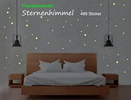 sternenhimmel 489 leuchtpunkte sterne aufkleber sticker wandtattoo perfekt für kinderzimmer und schlafzimmer