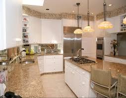 santa cecilia light granite to create and modern kitchen