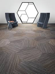Heavy Contract Carpet Tiles by Conference Room Flooring Linear Shift Hexagon 5t056 Shaw