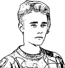Justin Bieber Coloring Pages Beiber Page Printable To Print