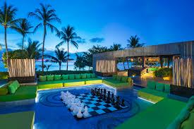 100 W Hotel Koh Samui Thailand Restaurants