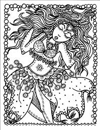 Instant Download Belly Dancer Coloring Pages Digital Files