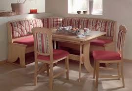 Kitchen Booth Ideas Furniture by Kitchen Pink Seats Cushions Combined Trendy Back Cushions Also