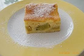 rhabarberkuchen mit schmandhaube sandy07 chefkoch