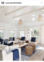Light And Bright Coastal Interior With A Relaxed Feel