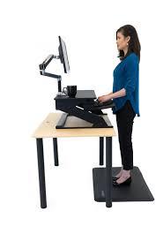 Kangaroo Standing Desk Imac by Imovr Ziplift Sit Stand Converter