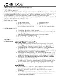 Skills Professional Resume For John Tompkins Page 1 17 Management