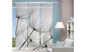 panello 3er set grau 100 polyester gardinen