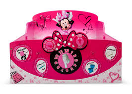 Minnie Mouse Bedding by Delta Children Interactive Wood Toddler Bed Disney Minnie Mouse