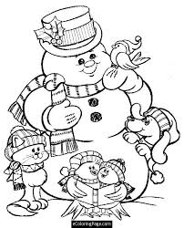 22 Christmas Dog Coloring Pages Animals Printable Inside