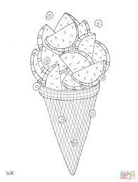 Water Melon Ice Cream