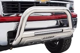 100 Truck Light Rack Lund Bull Bar With LED Bar Free Shipping On LED Push Bar