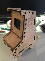 Mame Cabinet Plans Download by Preview Laser Cut Mini Arcade Cabinet Pics Raspberry Pi Forums