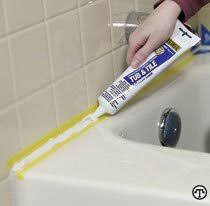 re caulking the bathtub doityourself