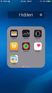 Hiding Apps on iPhone iPad & iPod touch