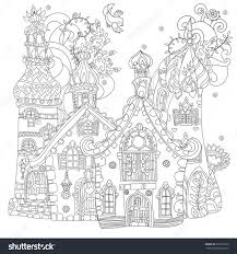 Sketch For Postcard Or Print Coloring Adult BookBoho Zentangle Style