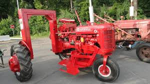 1951 Farmall Super A Christmas Tree Tractor