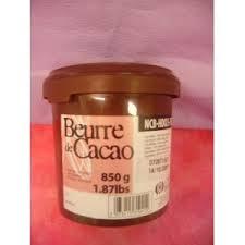 beurre de cacao cuisine beurre de cacao 100 cacao barry 850grs aux gourmandises d audray