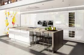cuisine moderne ouverte cuisine ouverte haut de gamme charles rema